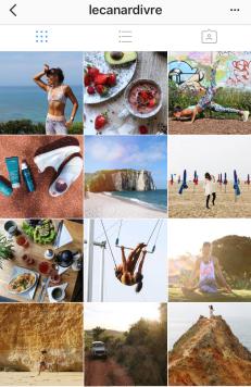 Exemple de concours Instagram avec lecanardivre