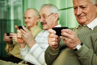 Seniors et smartphones