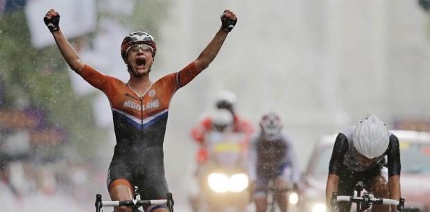 Sport émotion avec Marianne Vos