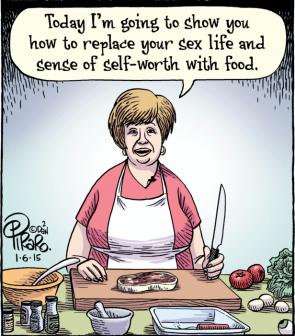 Humour food porn