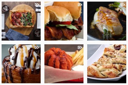 Tasty Instagram